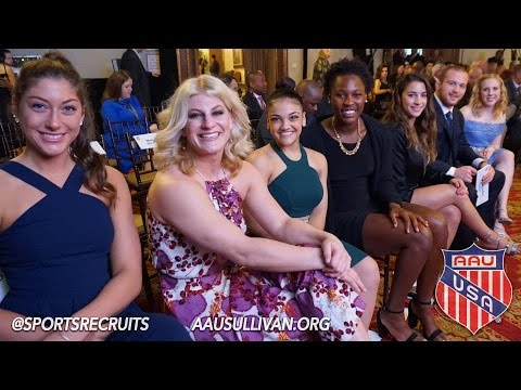 87th Annual AAU Sullivan Awards (New York Athletic Club, NYC) // Official Highlights