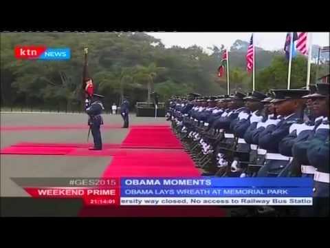 Sounds and sights of US President Barack Obama's moments in Kenya