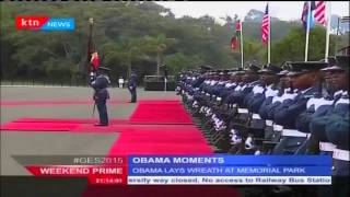 Sounds and sights of US President Barack Obama's moments in Kenya