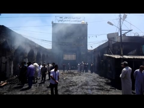 IS claims new deadly attack on Shiite shrine in Iraq