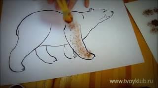 Рисование методом тычка - пособие для педагогов
