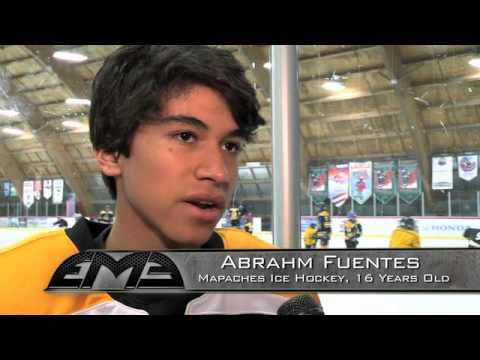 Ducks Support Clinic for Mexican Youth Hockey Team