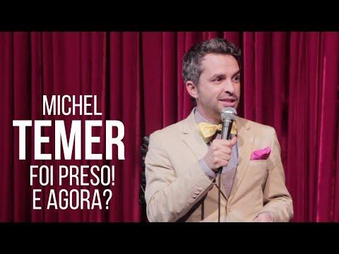 STAND UP: TEMER PRESO | Bruno Motta Comédia Stand Up