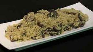 Garlic Mushroom Couscous Recipe