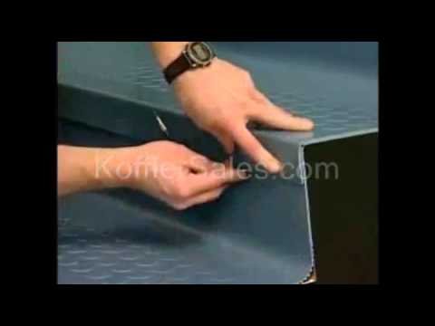 Install One Piece Stair Tread Risers Easy Youtube