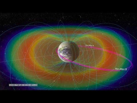 Shockwave Strikes the Van Allen Radiation Belts | Video