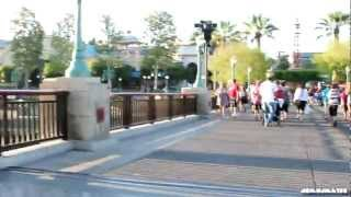 Walking Tour of Disney California Adventure 2011 in  HD  - using Steadicam Stabilizer test