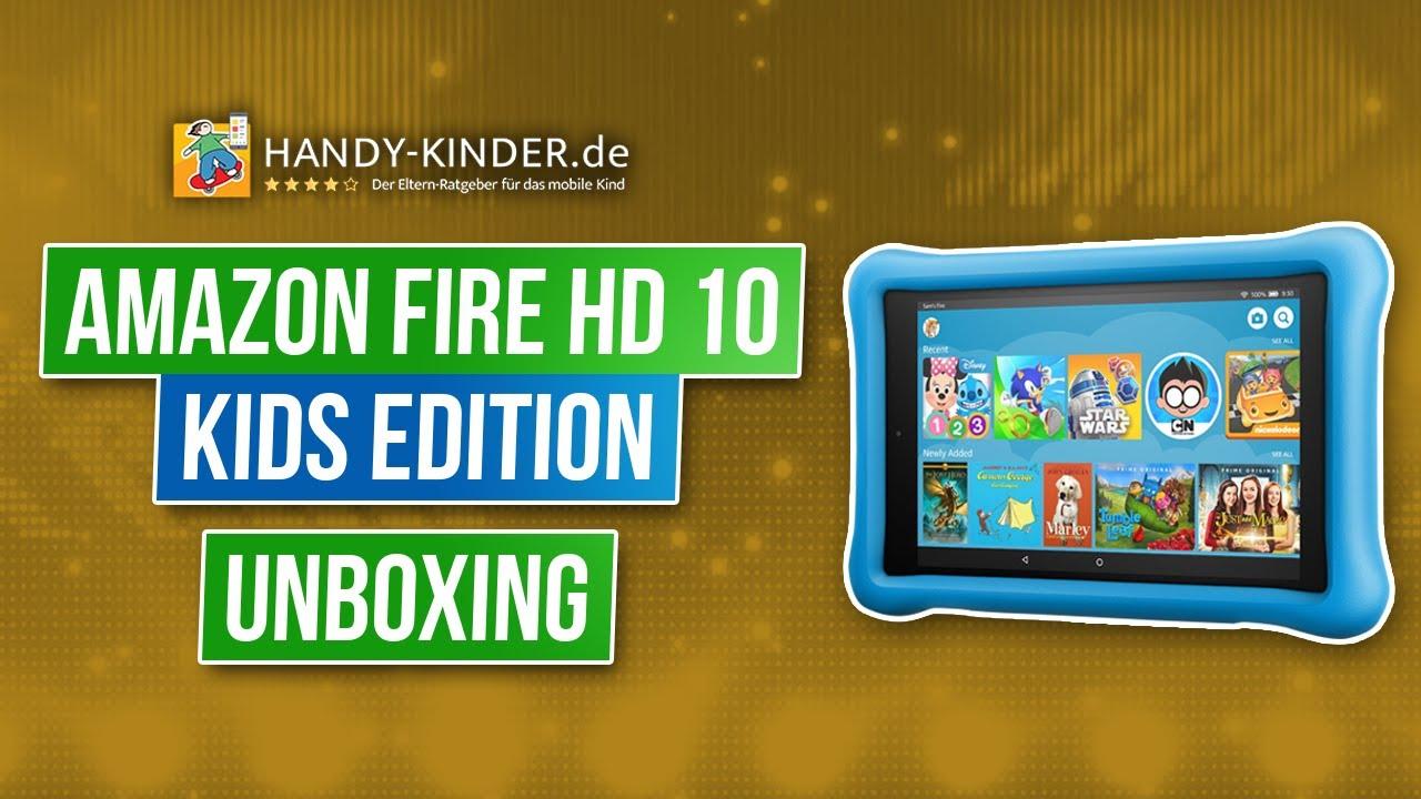 Amazon Fire Hd 10 Kids Edition Kindertablet Von Amazon Im Testvideo Unboxing Youtube