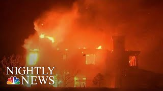 Southern California Battles Two Fast-Moving Wildfires | NBC Nightly News