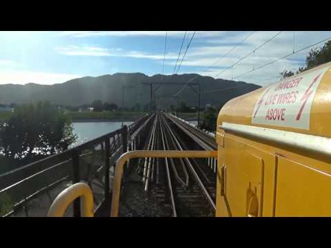 Cab View - Wellington to Masterton - Sony FDR-X3000 4K Action Camera