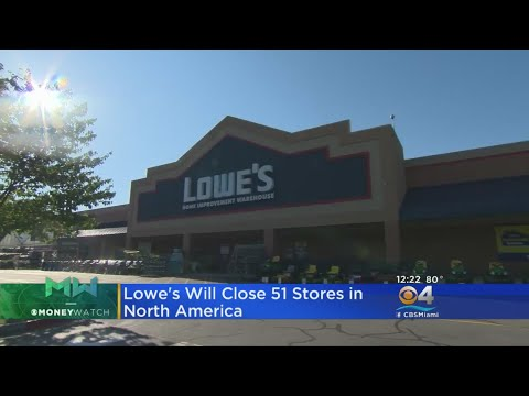 Lowe's Closing 51 Stores In US, Canada