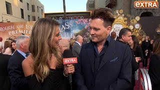 Johnny Depp Jokes About Kissing Jimmy Kimmel, Talks 'Alice' & 'Pirates of the Caribbean 5'