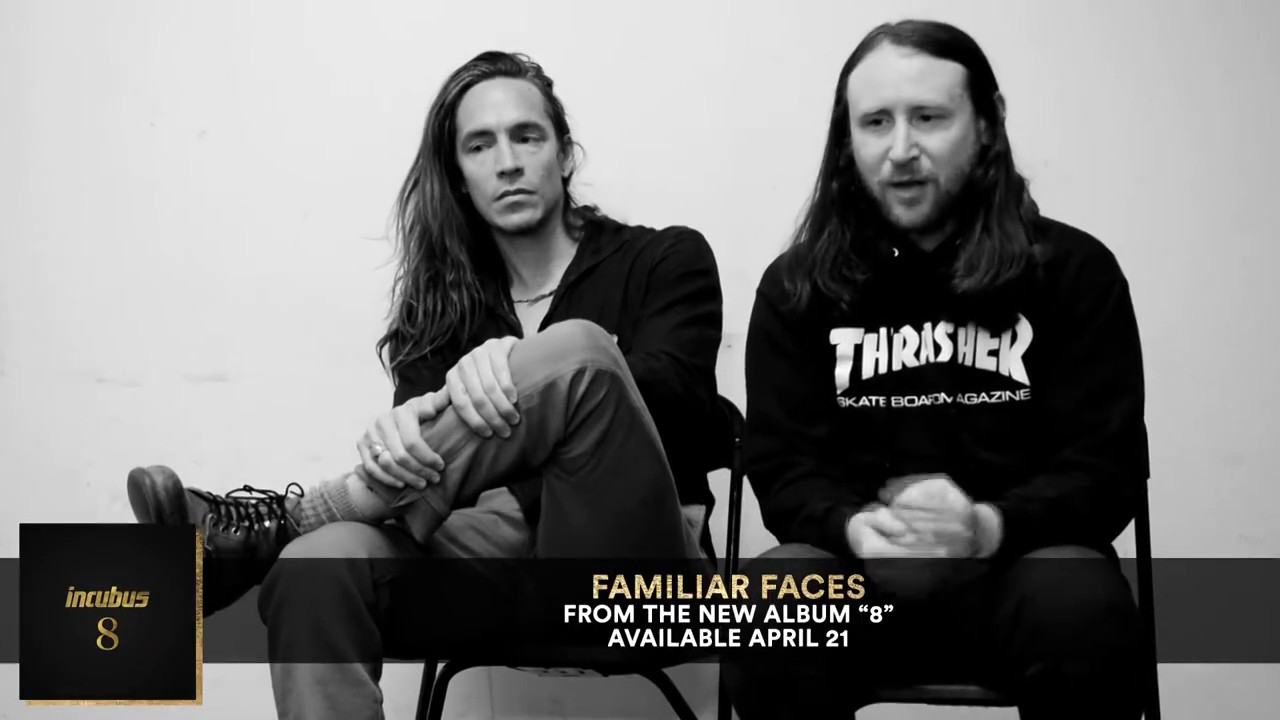 incubus a conversation about 8 familiar faces youtube