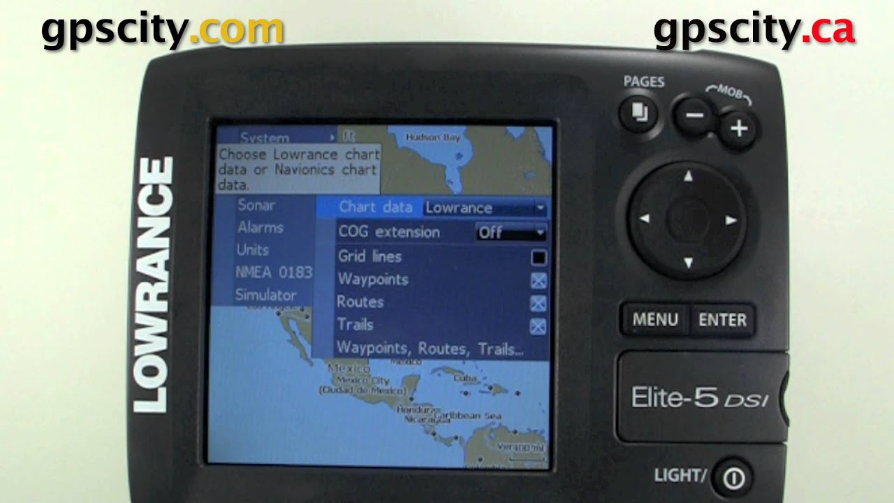 Lowrance Elite-5 How to load the navionics sd card