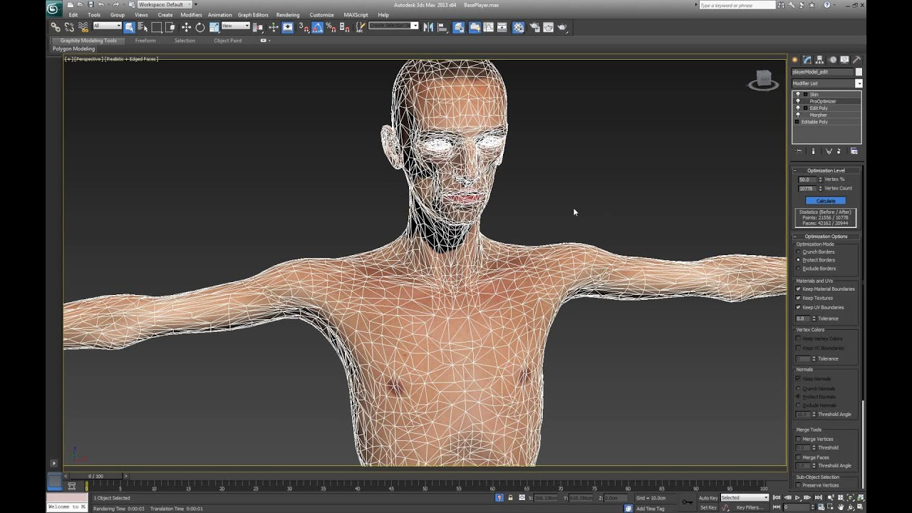 Character Design Tutorial 3ds Max : Procedural character design for unreal overview part