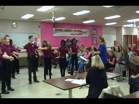 2013 State Show Choir Ensemble CMS Collinsville Middle School - Basin Street Blues  SDV0139