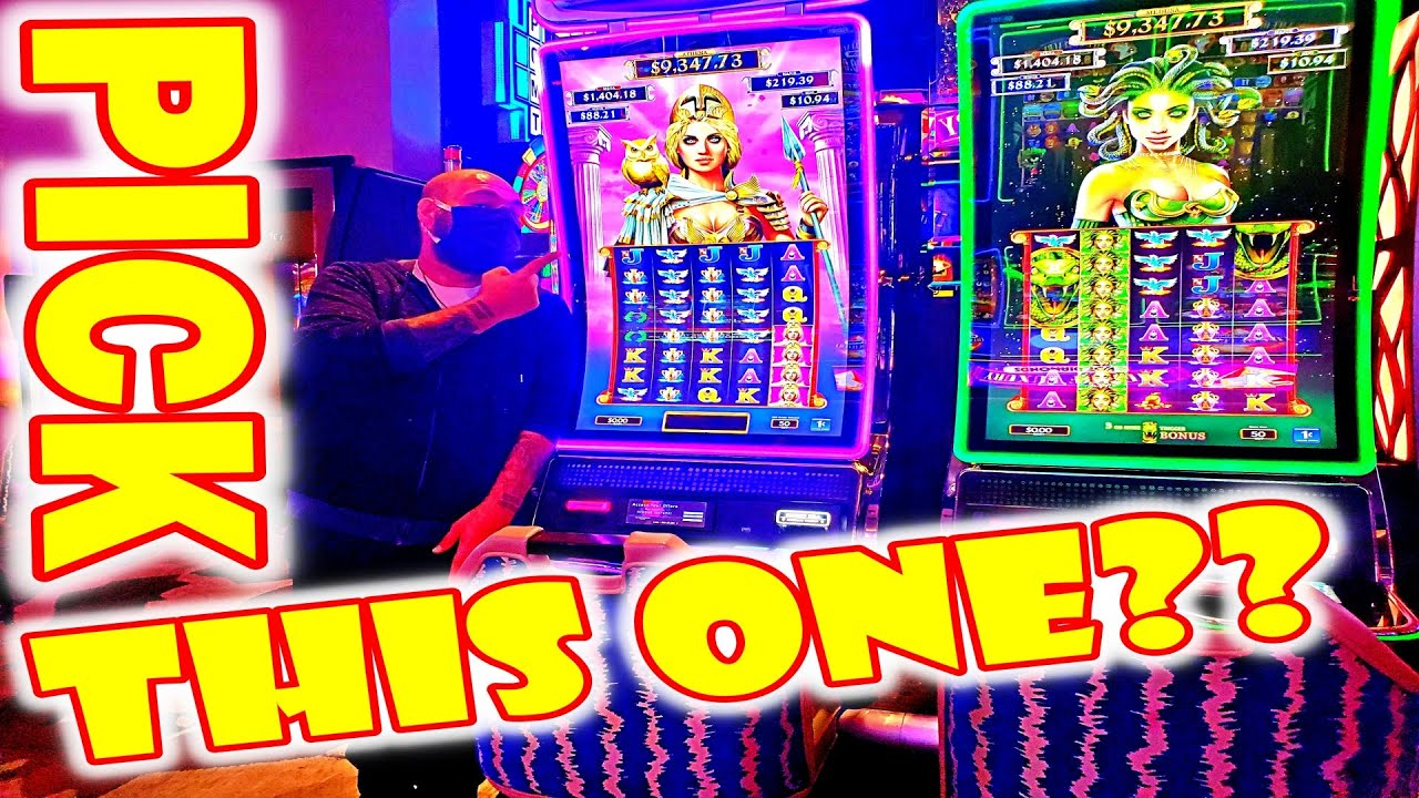 FIND A DEAD SLOT MACHINE? * TRY THE ONE NEXT TO IT!! - Las Vegas Casino Slot Machine Bonus Win - VLR