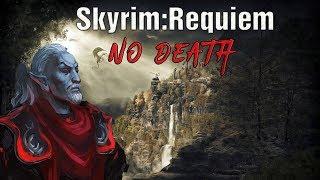 Skyrim Requiem (No Death) Данмер-Волшебник: веселые руны