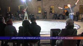 Yvelines | Les artistes au coeur de la commanderie pour la nuit blanche