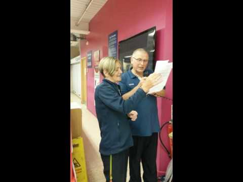Tesco Hindley night staff Penultimate Night shift