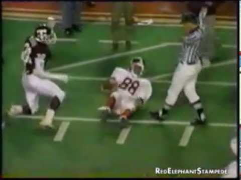 "1988 Alabama vs Texas A&M: ""The Hurricane Bowl"""