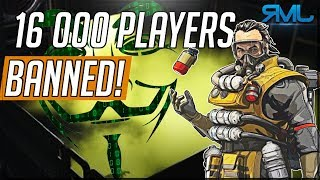 16 000 Cheaters Banned in Apex Legends - How to Report Cheaters - Apex Legends News