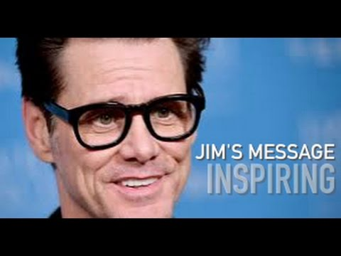 Jim Carrey's Secret of Life - (New link to video in description)