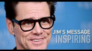Jim Carrey's Secret of Life - Inspiring Message to the world