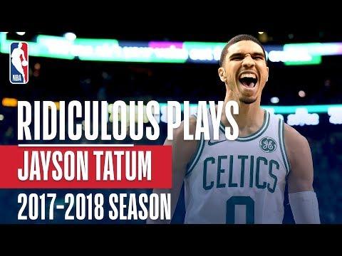 Jayson Tatum's RIDICULOUS Rookie Plays of the 2017-2018 NBA Season
