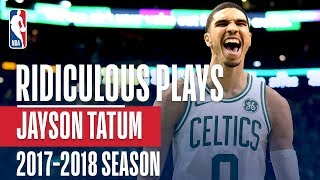 Jayson Tatum's RIDICULOUS Rookie Plays of the 2017-2018 NBA Season