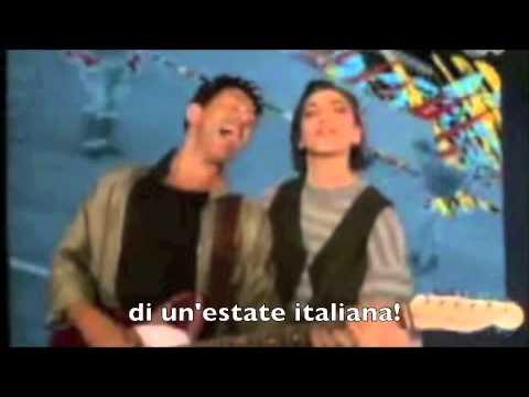 Edoardo Bennato e Gianna Nannini, Un'estate italiana (Mondiali 1990) CON SOTTOTITOLI