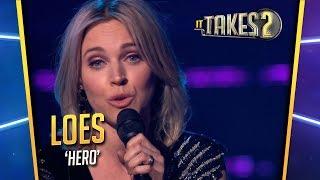 It Takes 2: Loes Haverkort zingt Hero in halve finale
