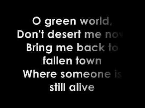Gorillaz O Green World Lyrics
