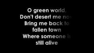 Gorillaz O Green World Lyrics