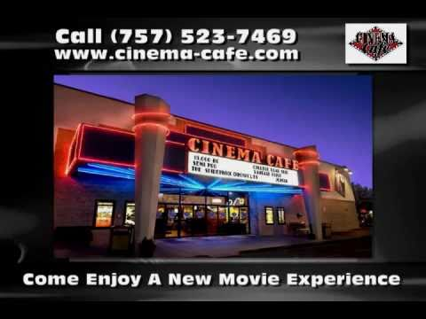 Movie Theater in Virginia Beach VA - Cinema Cafe