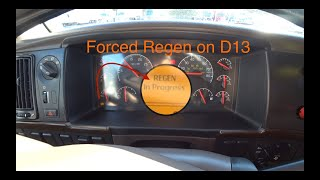 Forced Regen Volvo d13, cool tool from OTR Performance
