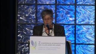 Opening Remarks - Suzanne Garon - Chair of the Scientific Committee