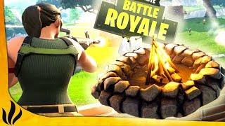 UNE GAME MONSTRUEUSE AVEC LE NOUVEAU FEU DE CAMP ! (Fortnite: Battle Royale)