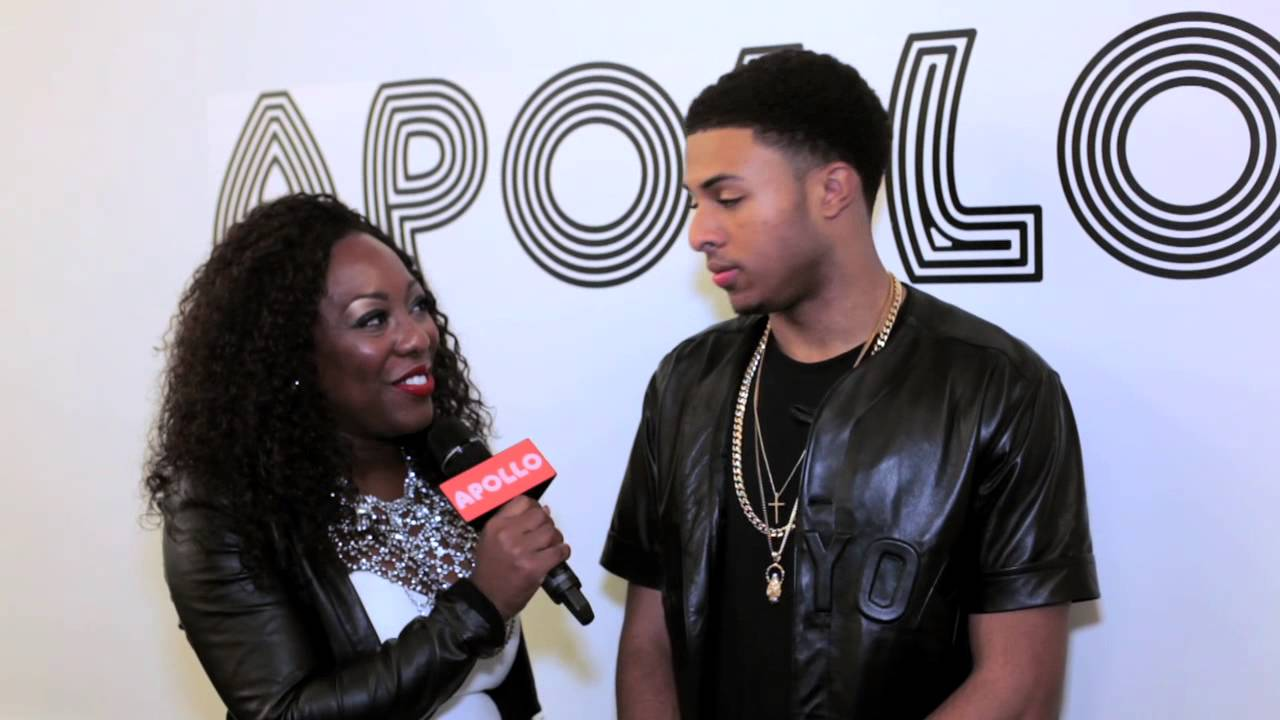 DIGGY SIMMONS AT THE APOLLO THEATER