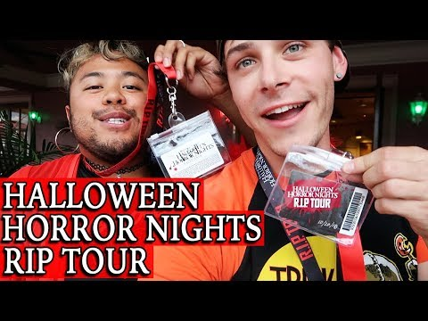 Halloween Horror Nights 2018 VIP Tour | Universal Orlando Resort Mp3