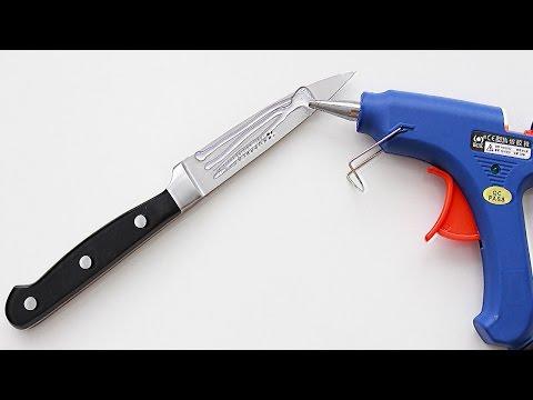 5 Awesome Glue gun Life Hacks   Way to use hot glue gun
