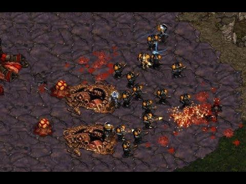 Killer (Z) V Strelok (T) On Heartbreak Ridge - StarCraft  - Brood War REMASTERED