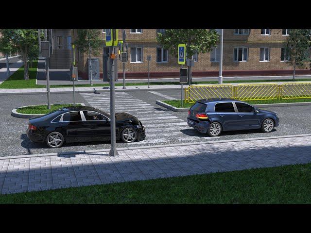 Разбор спорного ДТП из-за превышения скорости
