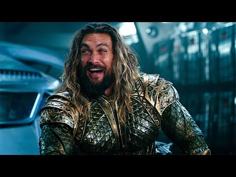 Aquaman and Lasso of Truth (Scene) Justice League (2017) Movie CLIP HD
