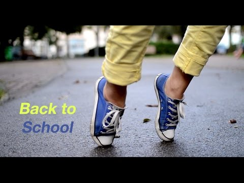 Back to School | Outfits and hairstyle tutorial