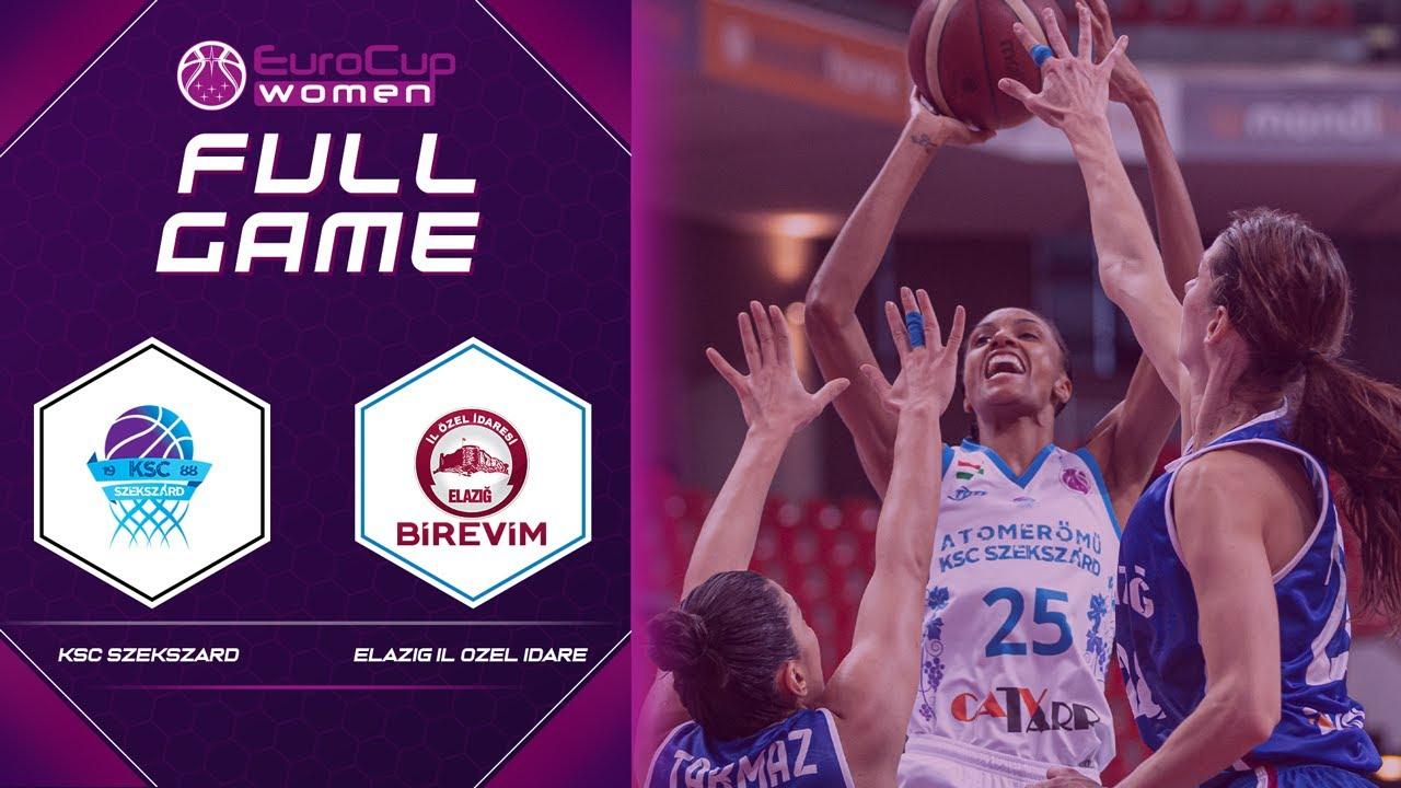 Quarter-Finals: KSC Szekszard v Elazig Il Ozel Idare | Full Game - EuroCup Women 2020