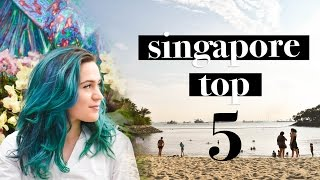 TOP 5 THINGS TO DO IN SINGAPORE | TRAVEL GUIDE | TRAVEL VLOG
