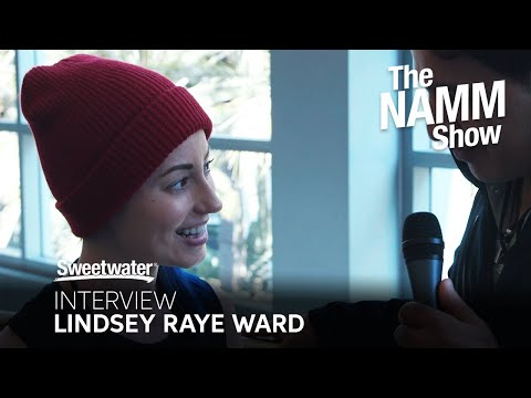 Lindsey Raye Ward Interview at Winter NAMM 2020