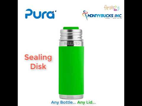 Pura Stainless Steel Infant Feeding Bottle Aqua 325 ml Online in India, Buy  at Best Price from Firstcry com - 1468213