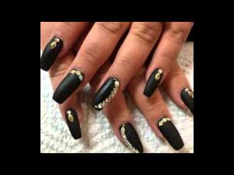NAIL ART|| SQUARE Nail design|| 2016 Long Design - NAIL ART|SQUARE Nail Design|2016 Long Design - YouTube